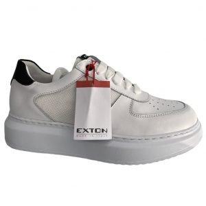 exton sneakers uomo bianco