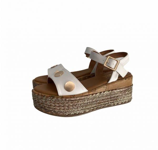 Alviero Martini sandalo bianco