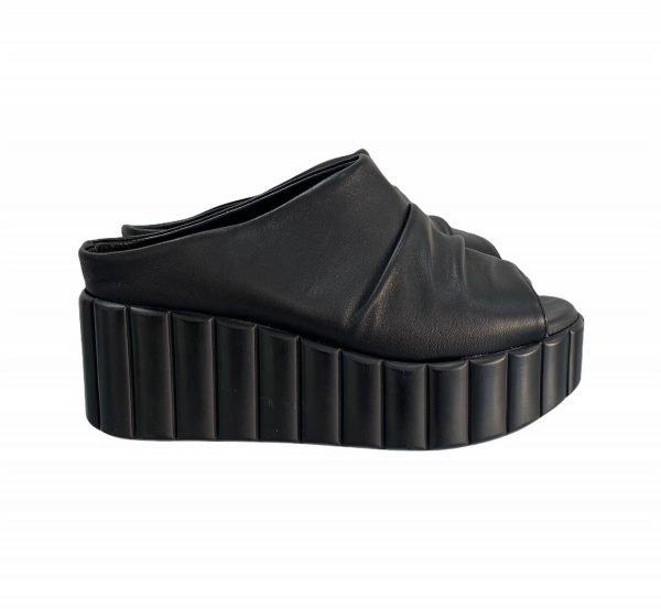 Sandalo zeppa Frau