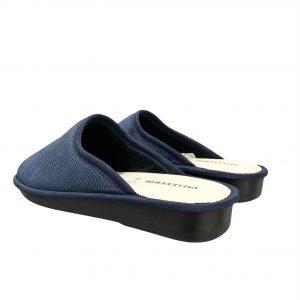 Valleverde pantofola uomo blu